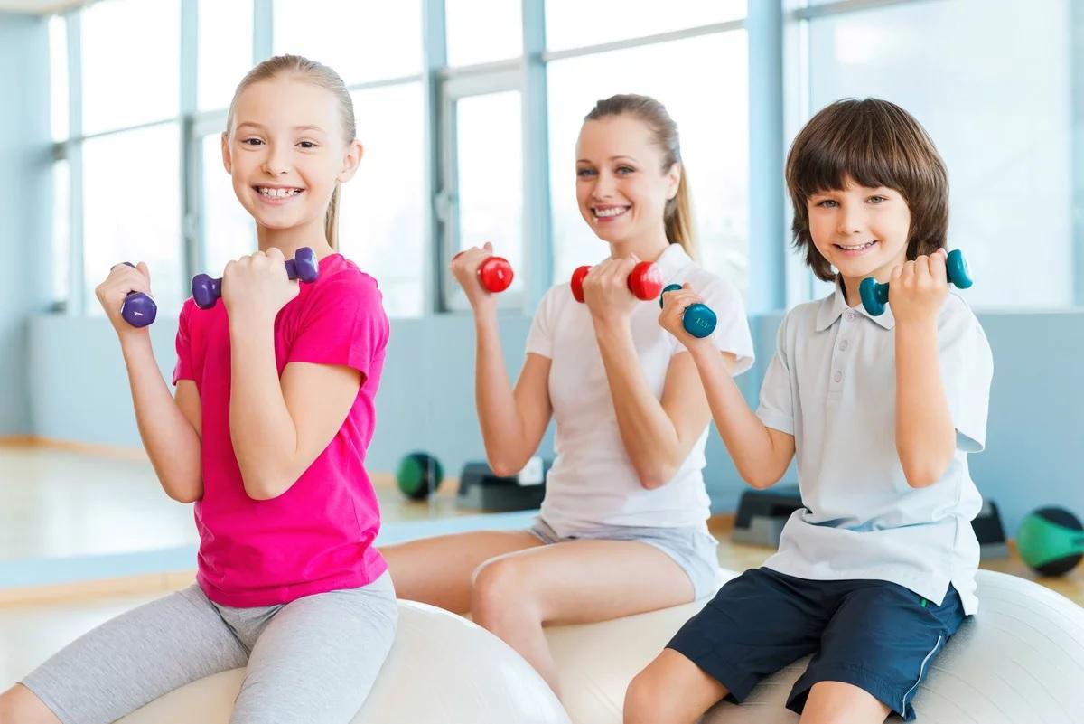 Детский фитнес – чем отличается от взрослого