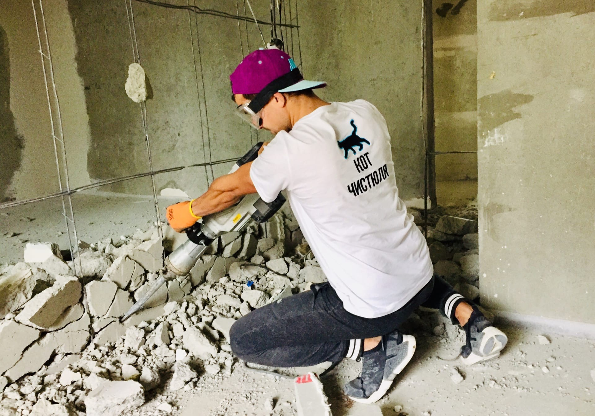 Что нужно знать о демонтаже бетона?